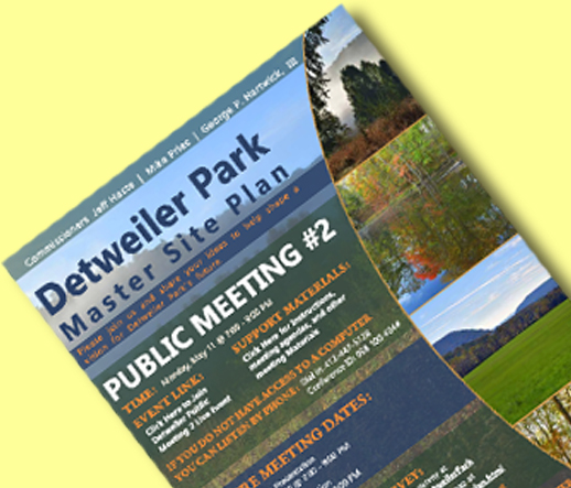 Detweiler Park Public Meetings